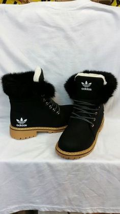 hot sale online dba7a 35e9a shoes fur black adidas boots adidas shoes black boots brown winter boots  adidas originals black and white white adidas boots adidas boots with fur  addidas ...