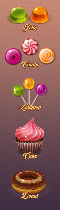 Sweets on Behance