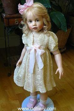 Des photos de poupées de l'artiste Sissel Skille, elles sont super réalistes