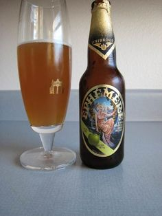"""And to drink.. Ephemere Apple Beer. I described this to a friend as """" beer, apples and happiness all in one sip!"""""""