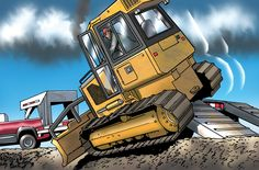 Safety Watch: Best practices when driving machines on and off a trailer