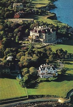 "The Breakers, Newport, Rhode Island summer ""cottage"" of the Vanderbilts. And they claim we don't have royalty! The Breakers Newport, Places To Travel, Places To See, Newport Rhode Island, Travel Usa, Just In Case, Alaska, Orlando, New England"