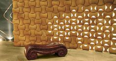 Contemporary Concept of Patterned Wall Materials