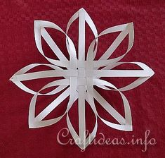 Example 2 of Finnish Paper Star - White Star