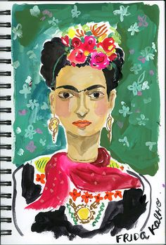 August Wren: Sketchbook Tips, How to Choose What to Paint