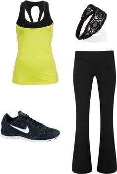 More workout outfit - http://www.FitnessApparelExpress.com
