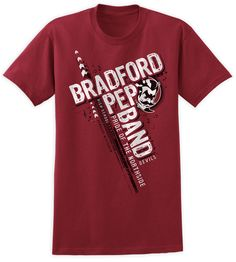 bradford high school pep band shirt design