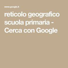 reticolo geografico scuola primaria - Cerca con Google