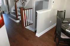 Recap Stair with new railing Can Design, Stairs, How To Plan, House, Ladders, Home, Stairway, Haus, Staircases