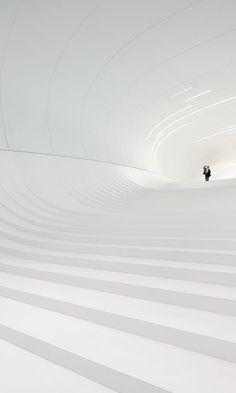 The Heydar Aliyev Center. Zaha Hadid.