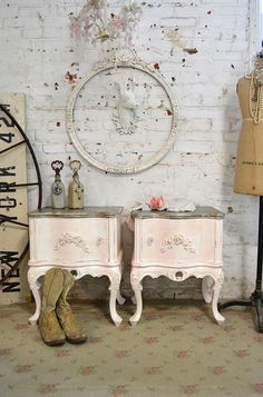 Painted Cottage Chic Shabby French Romantic by paintedcottages, $530.00