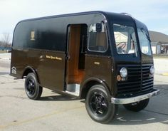 classic delivery vans for sale