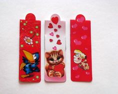 bookmark with magnet, set of 3 bookmark with magnet