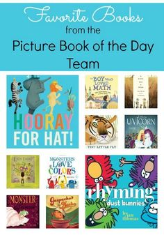 The Picture Book of the Day team shares their favorite picks of picture books for kids. See what over 20 bloggers say are their favorite book shares!