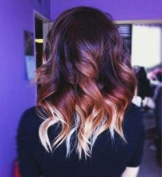 awesome dip dye ombre
