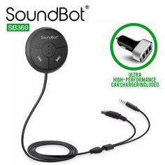 3. SoundBot, SB360 Bluetooth Car Kit