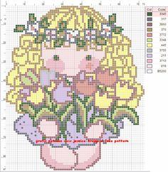 fairy hama perler beads from graphics at cutecolors.com