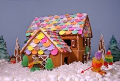 Chunkylicious ♥ Kawaii crafts ♥: Kawaii gingerbread house