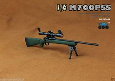 1/6 Scale COOMODEL X80028 M700PSS sniper rifle - GREEN (TOY)