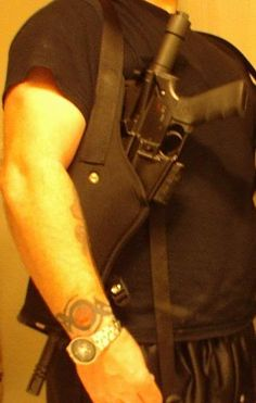 Found an AR Pistol (shoulder) Holster - AR15.Com Archive - SO much win right here