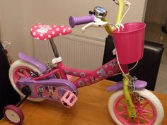 Girls Bicycle - Fitted with Stabilizers - New Bicycles For Sale, Bicycle Girl, Tricycle, Ireland, Cycling, Hobbies, Sport, Girls, Bicycling