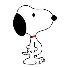 learn how to draw snoopy one of the most popular comic characters of all time from charles shulzs peanuts in this simple step by step cartoon drawing - Simple Cartoon Pics