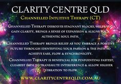 Channelled Intuitive Therapy (CT) - Clarity Centre QLD Central Nervous System, Hypnotherapy, Subconscious Mind, Intuition, Reiki, Clarity, Centre, Channel, How To Remove