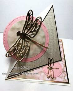 Video Tutorial: Dragonfly Easel Card