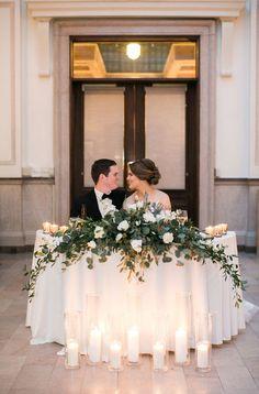 Bride Groom Table, Grooms Table, Wedding Table Decorations, Wedding Centerpieces, Wedding Table Arrangements, Head Table Decor, Floral Wedding, Wedding Flowers, Romantic Wedding Decor