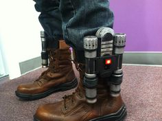 http://www.ebay.com/itm/GUARDIANS-OF-THE-GALAXY-PETER-QUILL-STAR-LORD-ROCKET-JET-BOOTS-PROP-COSTUME-SET-/201179660714?pt=US_Costume_Accessories