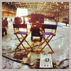 Setting up for Day 2 of shooting the new MARS video. 02/08/2013