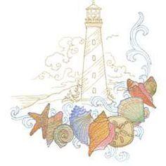 Seaside Treasures (25) - embroidery designs