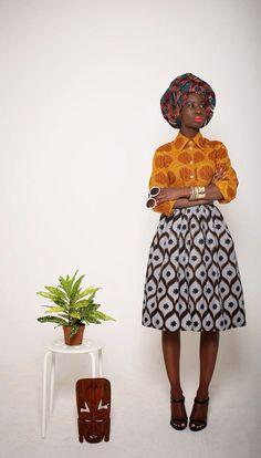 Tendance wax et ethnique dans la mode / African print and ethnic in fashion Kids Crafts diy crafts for kids at home Fashion Kids, Work Fashion, Urban Fashion, Fashion Prints, Fashion Beauty, Fashion Design, Beauty Style, Fashion Fashion, African Inspired Fashion