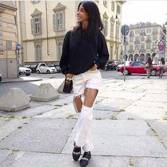 CHIARA BIASI #new #collection #pyrex #pyrexoriginal #fallwinter16 #winterstyle #sneakers#nothingbetter #wearingpyrex #streetstyle #godsavethestreet #chiarabiasi
