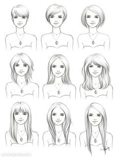 Hair Drawings Pictures, Photos, and Images for Facebook, Tumblr, Pinterest, and Twitter