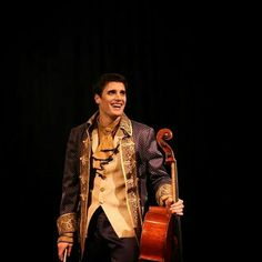 Luka Sulic from 2Cellos (Thunderstruck) yup, snagged it from his page.