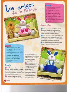 Revista completa de bonecas e bichinhos de pano e feltro                                                               ...