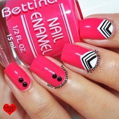 Bettina Pink Bikini & half moon V's