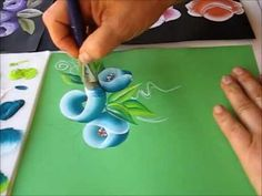 ▶ ROSE ONE STROKE PAINTING. ROSA 11 SPEED. - YouTube