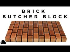 Brick Butchers Block Cutting Board - Maple and Padauk Box Joint Jig, Box Joints, End Grain Cutting Board, Butcher Block Cutting Board, Cutting Boards, Buy Coffee Beans, Give It To Me, Woodworking, Travel Mugs