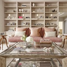 These artfully arranged bookshelves demonstrate that beauty is in the details…