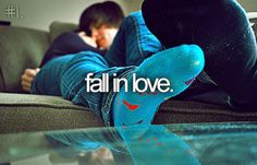 FALL IN LOVE :) even if it doesn't work out and i end up heartbroken... i think every person needs to experience being in love, and i haven't yet