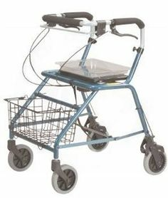 Rollator Dannie Steel Winnie Walker by Healiohealth. $294.65. Independent adjustable locks in three positions.. Standard clear plastic tray and wire basket. Adjustable handle height.. Sturdy steel construction.. Therapist assisted brake.. Rollator Dannie Steel Winnie Walker is easily maneuverable, prompting independence inside and outside of the home. Rolling walker offers great maneuverability for added stability and comfort while walking. This Ambulatory Device will...
