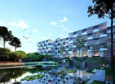 #dormitory #huniarchitectes #vietnam #danang  #fptuniversity #architecture #vietnamarchitecture #pixel #masterplan