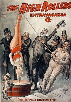 Vintage Burlesque Poster