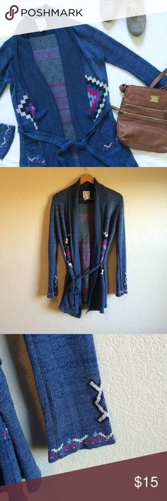 Billabong • Cardigan This drape front cardigan ties at the waist and is perfect for layering. Billabong Sweaters Cardigans