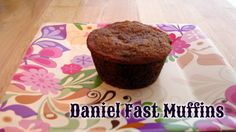 I can't say there are many recipes that I've made while on the Daniel Fast that I would keep eating after the fast ended. These muffins, however, are the exception to the rule. These mu…