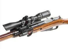 UTG Tactical Mosin Nagant Tri-rail Mount scope Rail adapter M44 M91 MNT-MNTR01 this looks like my tri-rail set up