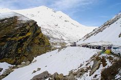 Awesome place in Himachal # Rohtang #