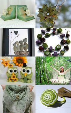 Shadows green..... by SandyCasp on Etsy--Pinned with TreasuryPin.com